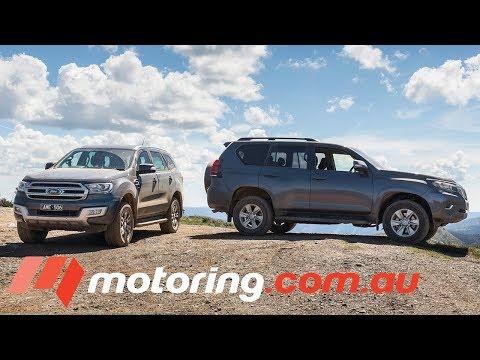 Toyota Landcruiser Prado v Ford Everest | motoring.com.au