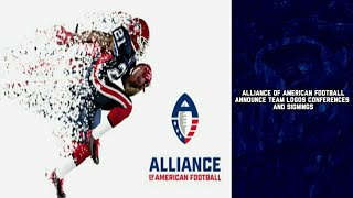 Alliance of American Football Announce Team Logos, Conferences & Signings