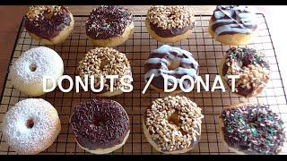 how to make donuts recipe / cara membuat donat empuk