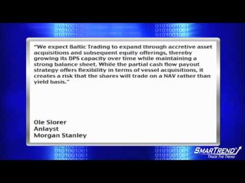 Analyst Insight: Morgan Stanley Initiated Coverage Of Baltic Trading Ltd With OW Rating, $17 PT