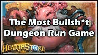 [Hearthstone] The Most Bullsh*t Dungeon Run Game