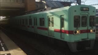 【唯一のGTO車】西日本鉄道6052Fモーター音(西鉄久留米→筑紫・普通)