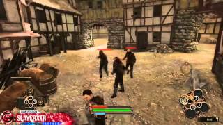 The Dark Eye Demonicon PC Walkthrough Part 7 Defending the Armory Gameplay Let
