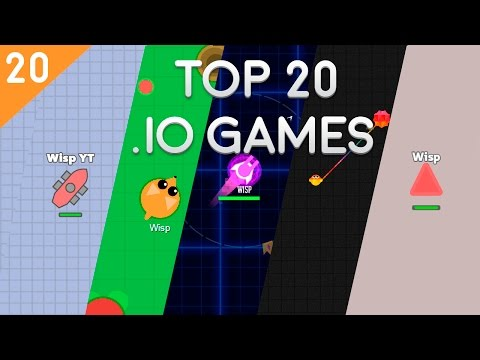 TOP 20 IO GAMES // BEST .IO GAMES EVER
