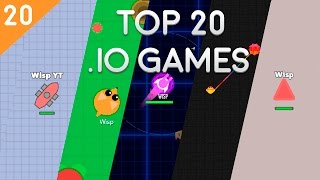 TOP 20 IO GAMES // BEST .IO GAMES EVER