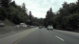 CA Highway 17 South: San Jose to Santa Cruz
