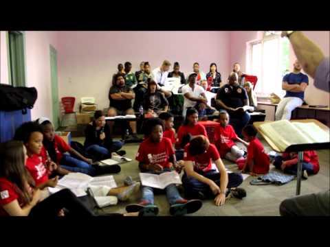 La Bohème Act 2 Rehearsal