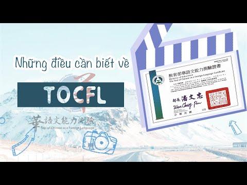 Kinh nghiệm thi TOCFL 華語文能力測驗 | Mặt hoạt hình