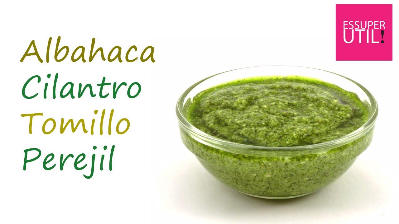 Usos y beneficios de la albahaca, el cilantro, el tomillo