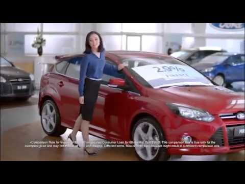 Girl In Blue Ford Australia 2 9 P A Comparison Rate Tv Advert
