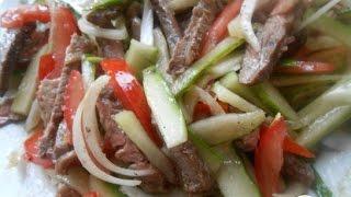 Вьетнамский салат Ном бо тай  Пошаговый рецепт с фото