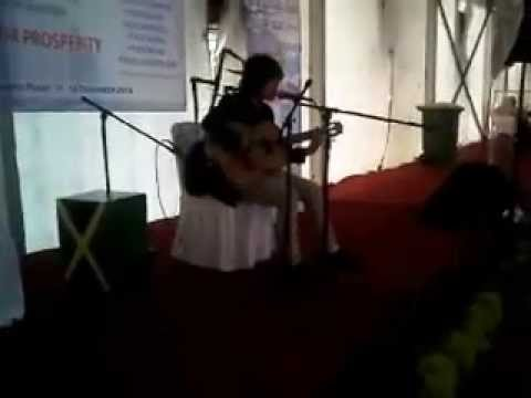 Ariv Kotu - It Must Have Been Love ( Cover Roxette ) at Jakarta Library And Archive Expo