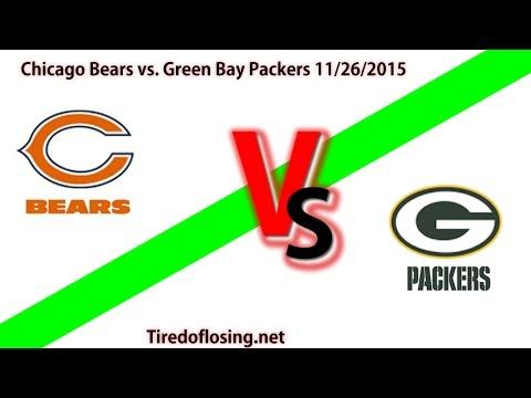 Free NFL Picks Chicago Bears Vs. Green Bay Packers 11/26/2015