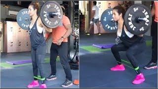 Malaika arora khan new  H0T Workout 2018