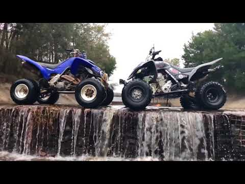 2018 raptor 700 vs water and hill climbing