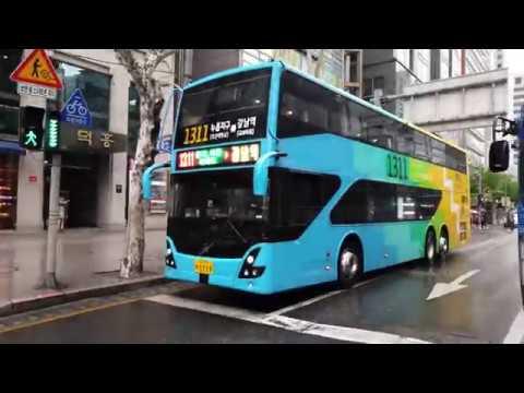 [ 4K Walk ] Korea Seoul Rain Sound ASMR |비오는날 강남 빗소리| At Gangnam | ソウル雨の音 | 韓国首尔雨声