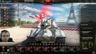 Стрим турнира в World of Tanks 1х1 №93, уровень X. Группа. 16.06.2016