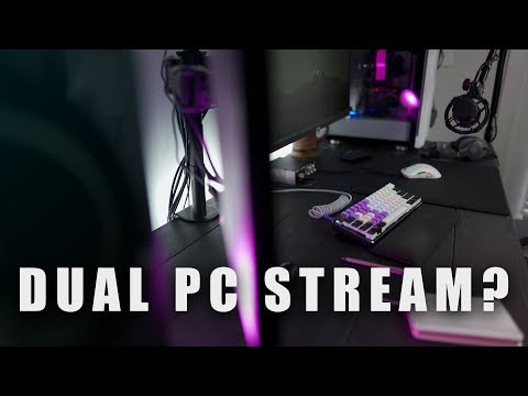 How to STREAM in 2020! Dual Streaming PC VS. Streaming On Your Gaming PC