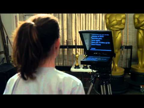 Videos Posted by The Academy of Motion Picture Arts and Sciences  The Oscars  Teleprompter Speed Trials with Anne Hathaway