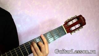 Аккорд G# или Ab на гитаре