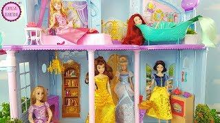 Las Princesas llegan a su Castillo Mágico Disney - Blancanieves, Cenicienta, Bella, Ariel y Aurora thumbnail