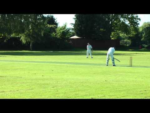 Andy Cowham batting for Eaton Socon CC v Lt Paxton CC at Lt Paxton 0526-2013_175523