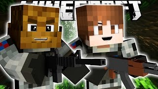 Minecraft GENERAL JEROME & GENERAL BAJANCANADIAN GO TO MILITARY ISLAND