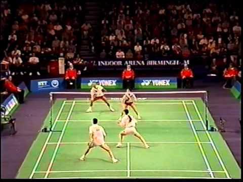 1997 AE Final XD TrikusHeryanto MinartiTimur vs LiuYong GeFei