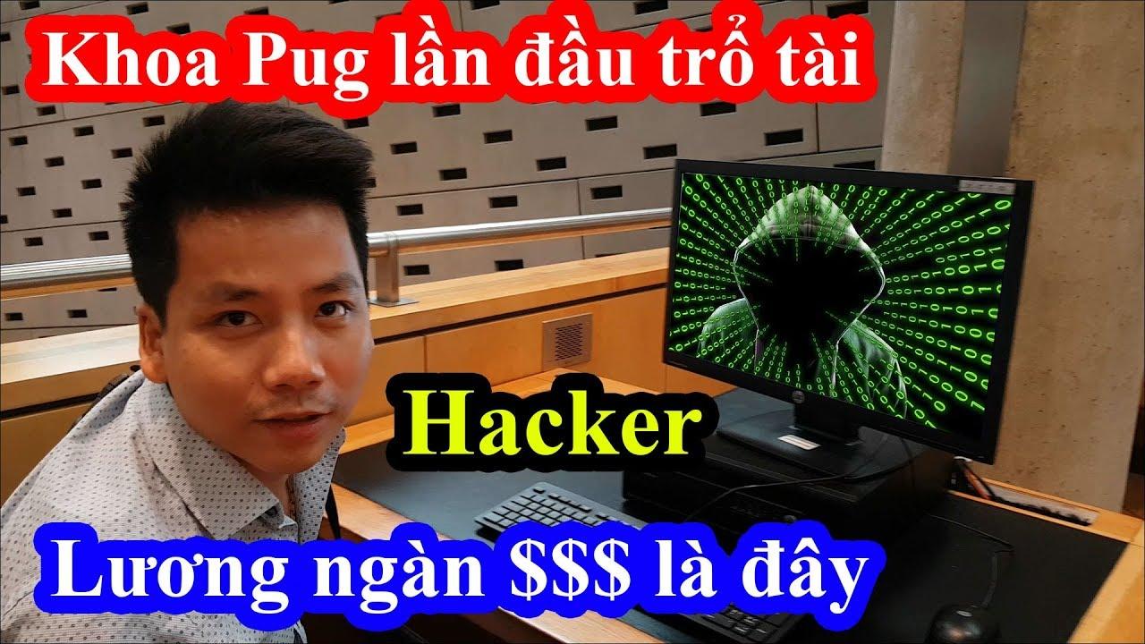 Khoa Pug lần đầu trổ tài đột nhập siêu máy tính tại thư viện khổng lồ to nhất thế giới và cái kết