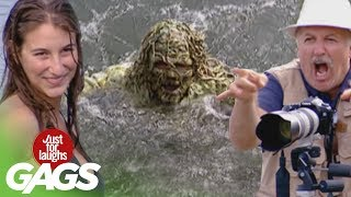River Monster Pranks - Best of Just For Laughs Gags