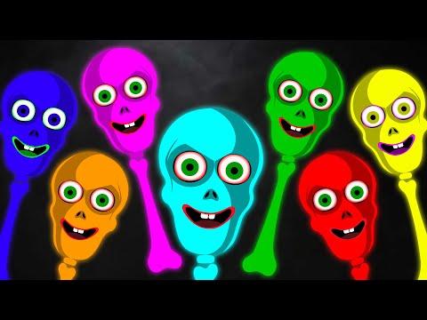 Midnight Magic - Skeleton Moon Walk & Funny Skeleton Dance In Teehee Town