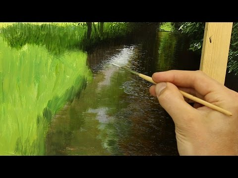 Best Brush For Acrylic Painting Grass