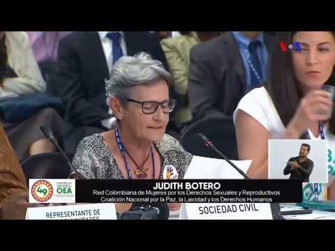 Intervención De Judith Botero De La Red Por La Paz, La Laicidad Y Los Derechos
