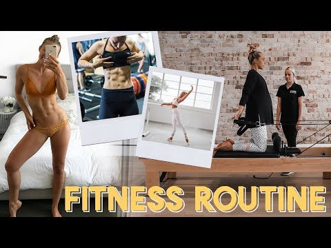 Female Fitness Routine   What TRANSFORMED My Body & How I Exercise Now In Pregnancy