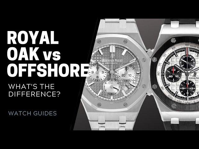 Audemars Piguet Royal Oak vs Royal Oak Offshore Comparison   SwissWatchExpo [Watch Guides]