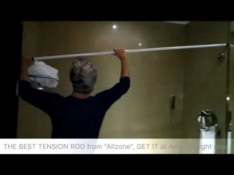 ALLZONE TENSION ROD, Shower rod, Curtain rod, Room divider curtain rod