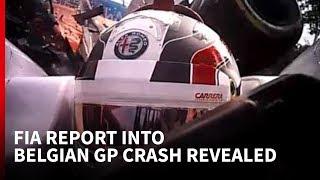 FIA report into Belgian GP crash reveals how halo saved Leclerc