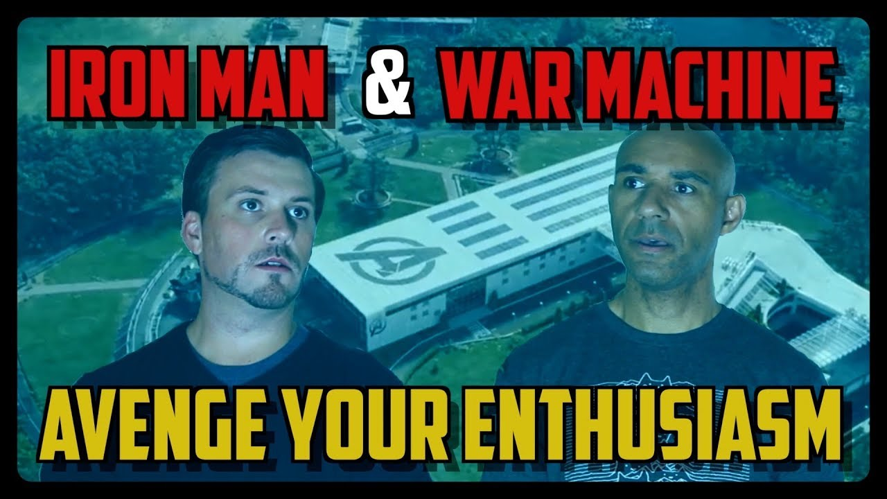 Sketch From Superheroes: Avenge Your Enthusiasm