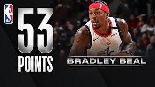 Bradley Beal Scores CAREER-HIGH 53 PTS!