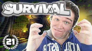 """""""ALLES GAAT FOUT!"""" - Minecraft Survival - Aflevering 21"""