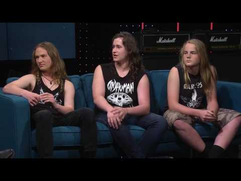 """Alien Weaponry on """"All Talk With Anika Moa"""" - Interview & live performance"""