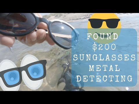 Metal Detecting Warren Dunes State Park - $200 Versace Sunglasses