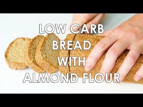 Low Carb Bread Recipe – Almond Flour Bread (Paleo, Gluten-Free)