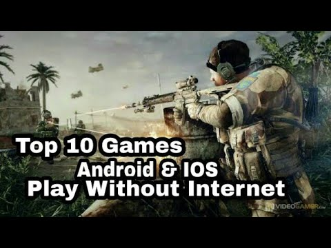 Top 10 Free War Shooting Games Without Internet Play