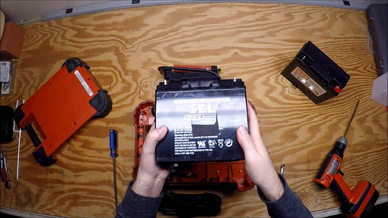 Black+decker 500-watt portable power station-pprh5b the home depot.