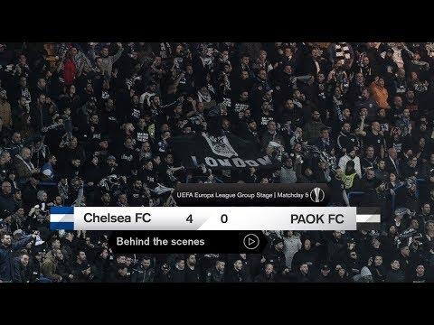 Η παρακάμερα του Τσέλσι-ΠΑΟΚ - PAOK TV