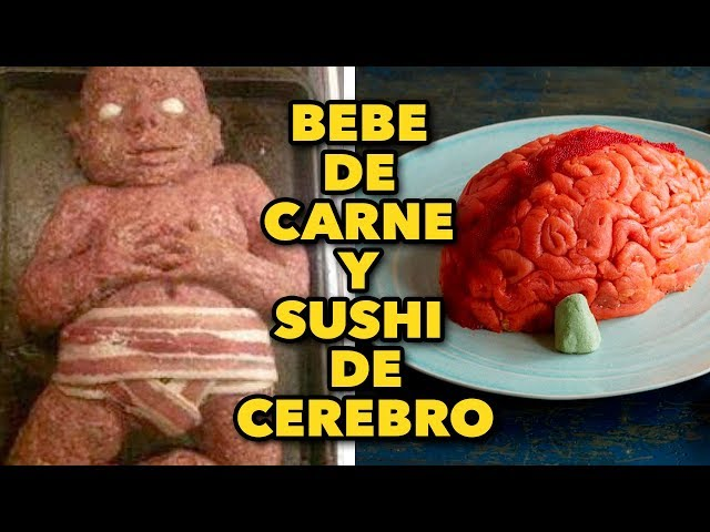 HAZ BEBE DE CARNE Y SUSHI DE CEREBRO. EXPECTATIVA/REALIDAD