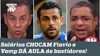 Que FO**! Salários do Cruzeiro CHOCAM Flavio Prado, e Vampeta DÁ AULA de bastidores!