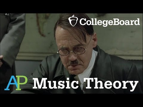 Hitler Gets His AP Music Theory Scores