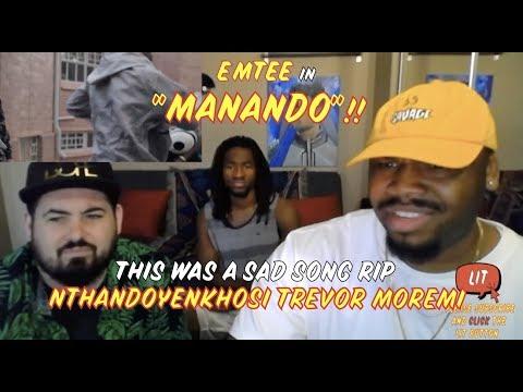 Emtee - Manando ( Official Music Video )( Thatfire Reaction )